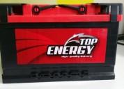 Bateria coche top energy 70 ah 650 en, contactarse.
