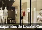 Instalacion de cristales o escaparates en locales