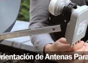 Orientación de antena parabólica, contactarse.