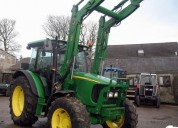 Excelente tractor john deere 5820 con cargador 551, gádor