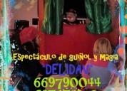 Oportunidad!, animación infantil y guiñol para fiestas, madrid