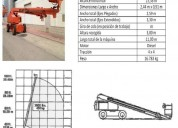 Excelente brazo diesel telescopic 32m 100 hx, benifaió
