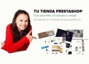 Instalación de tienda online prestashop y plantilla premium