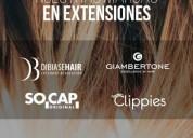 Las mejores extensiones de pelo del mercado, consultar precio.