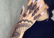 Diseños de henna ( tatto henna), contactarse.