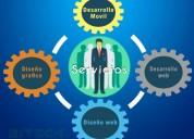 Diseñamos tu pagina web empresarial o personal,  consultar!.