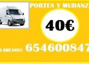 Portes x tan solo 40€=65_46oo847anuncios en coslada/ciudad.lineal/parla