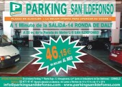 Oferta plazas de parking en cornella en alquiler desde 46,15€