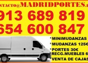 Mudanzas madrid y portes madrid=6546-oo847 fletes en chamartin