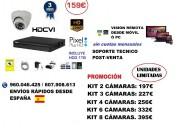 Oferta kit de videovigilancia interior hd