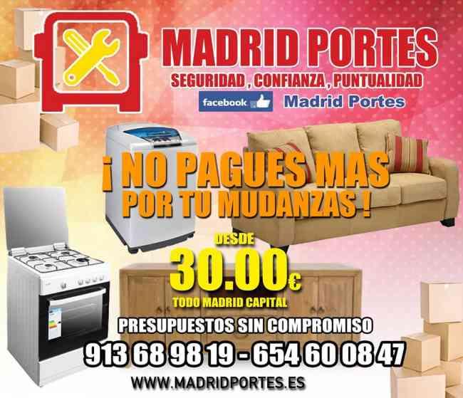 MINI#PORTES CHAMBERI:BARATOS 6(54)6.00-847:MUDANZAS MADRID