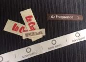 Etiquetas ropa personalizadas en algodón natural