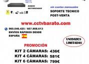 Oferta kit videovigilancia ip wifi