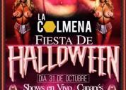 Se buscan chicas para fiesta de halloween en club de alterne