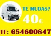 Mudanzas parla(ofertas)(91/368•9819)fletes en madrid-portes 30€