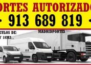 Portes en retiro 91368#9819 furgon-camion de gran capacidad