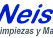 Neiser es una empresa con una gran experiencia en el sector de limpiezas y mantenimiento