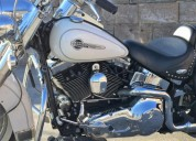 Harley davidson softail heritage classic white
