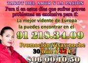 Tarot de noche 30 min 12€ 912183409