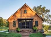 Aserradero casas de madera maciza