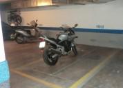 Plaza parking para moto grande