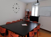 Alquilo sala por horas para clases particulares