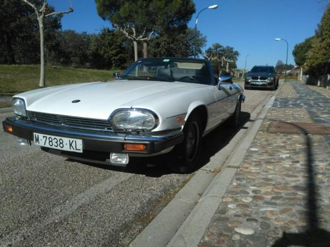 Vendo precioso Jaguar XJS V12 descapotable año 1989, Contactarse.