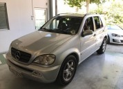 Lindo mercedes ml 320 gasolina manual, sitges