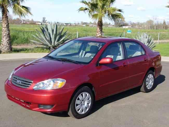 Toyota Corolla 2004 baratos a la venta