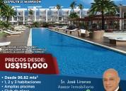 Adquiere tu apartamento nuevo de playa en punta cana-rep. dom.