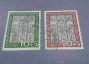 Intercambio de sellos nuevos y usados de europa occidental