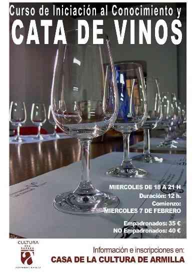 Curso de cata y conocimiento de los vinos