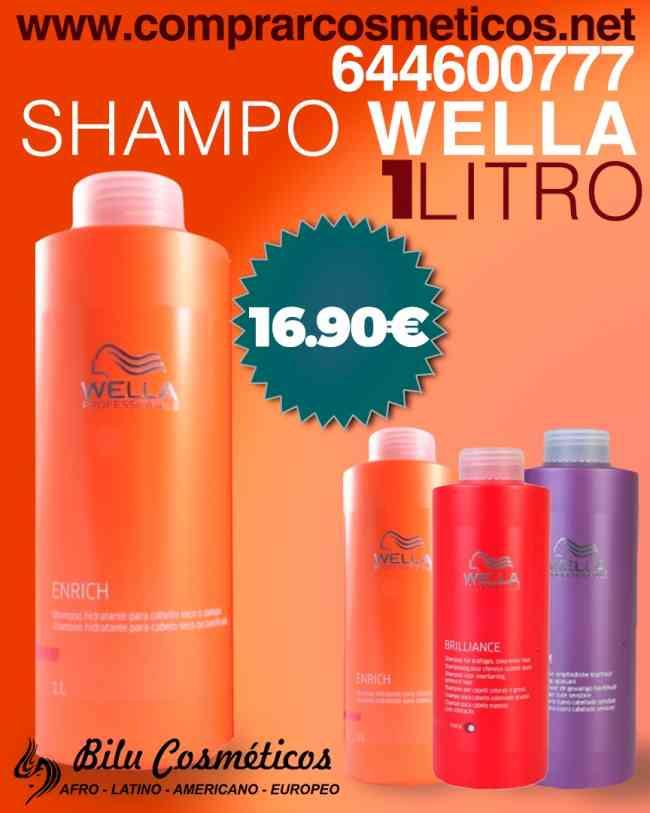 Para un Cabello Sano Shampoo Wella