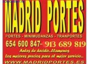 Transportes 365dias(913+689819)mudanzas villaverde
