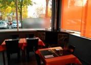 Traspaso bar restaurante 240m² con terraza en la m