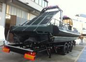 Remolque de aluminio para barcos grandes,thalman