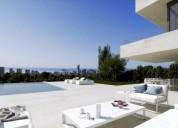 Ocasion villa de diseno en finestrat nuevo con piscina y garaje