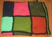 Manta artesanal de varios colores