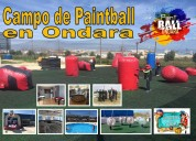 Campo de paintball ondara
