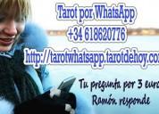 Tarot x whatsapp por 3 euros 618620776 y pregunta