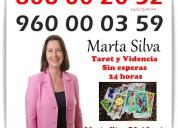 Vidente de nacimiento marta silva por visa 5€ 10 m