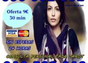 Tarot, videntes con experiencia por visa 9€ 30 min