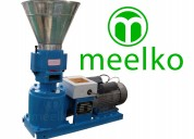 maquina meelko para pellets con madera 150 mm eléc