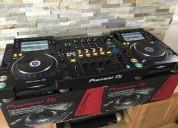 En venta equipos de dj 2x pioneer cdj 2000 / djm