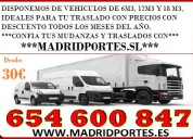 Oferta!transportes y mudanzas 6/5/46008/4/7 madrid