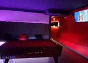 Organizar una fiesta en una sala privada