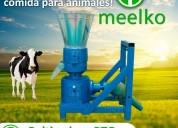 Máquina meelko para pellets con madera 230 mm pto