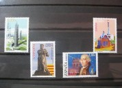 Intercambio de sellos de españa 3x1