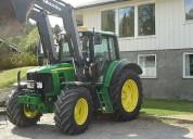 Tractor john deere 6430 premium 2007 a € 3500