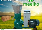 Peletizadora meelko 120 mm electrica 4kw